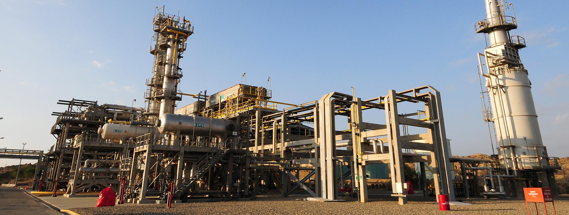procesamiento de gas