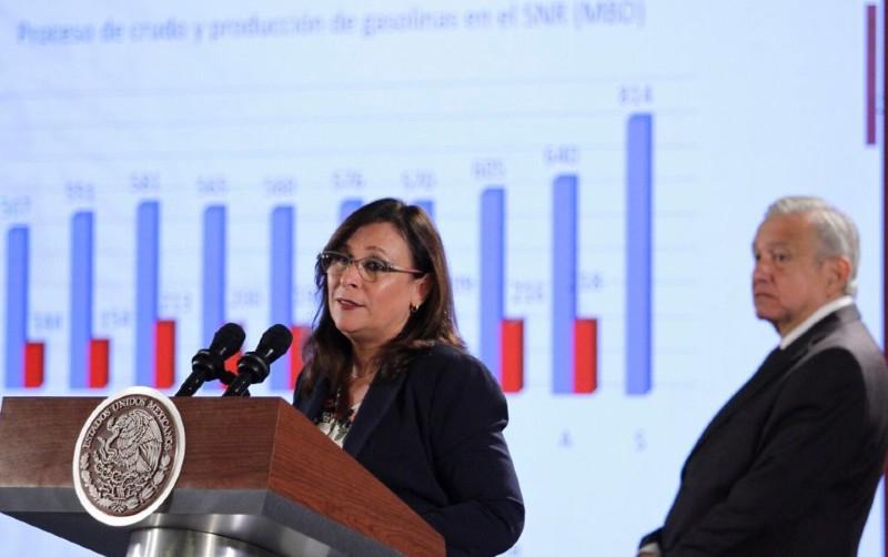 Rocío Nahle niega financiamiento de China a refinería de Dos Bocas