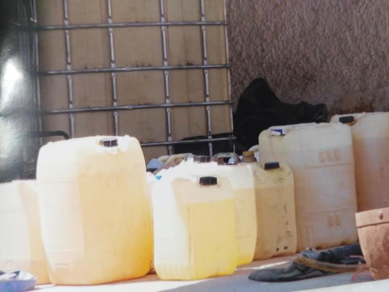 28 mil litros de hidrocarburos